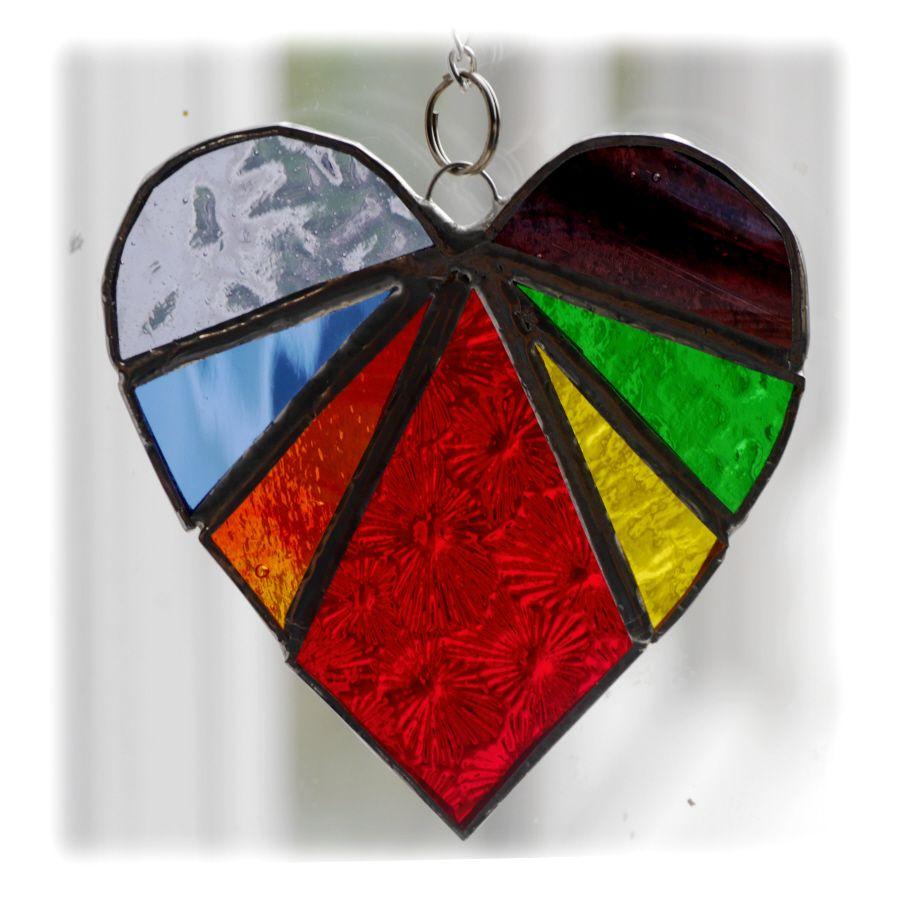 Heart 02 Rainbow 038 #1907 FREE 10.00