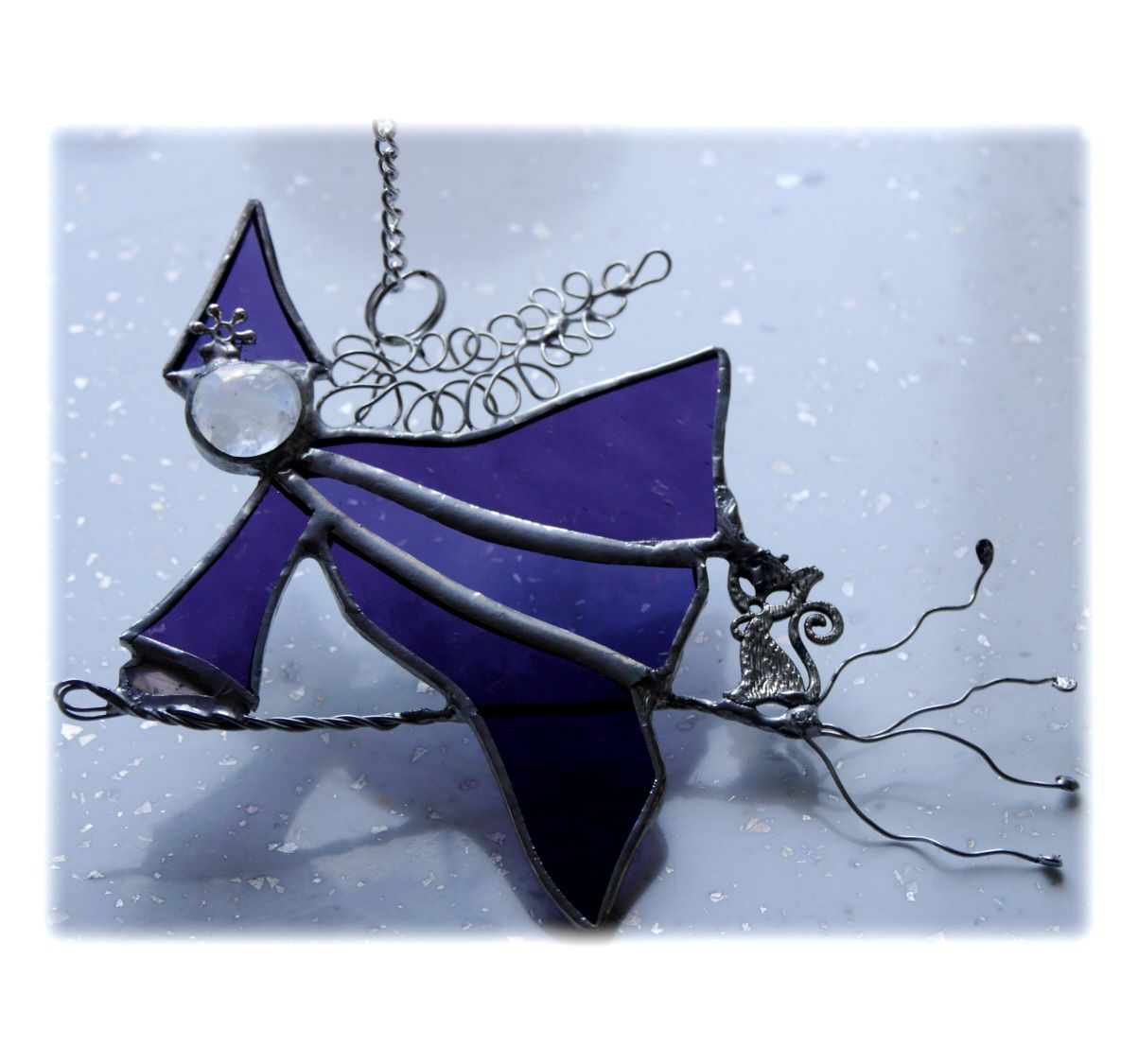 Witch 054 Purple #1909 FREE 13.00