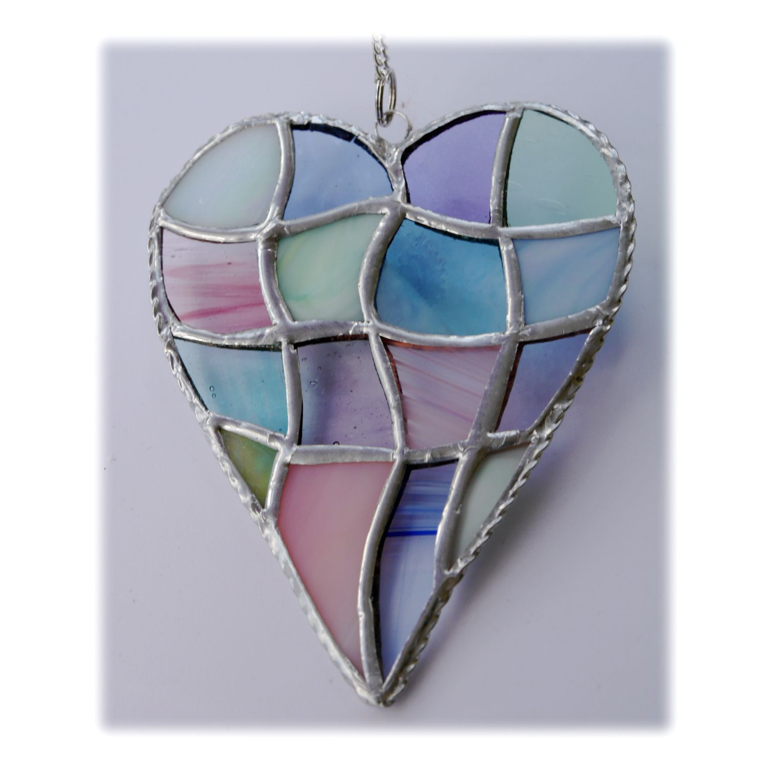 Patchwork Heart 044 Pastel #1908 FREE 16.00