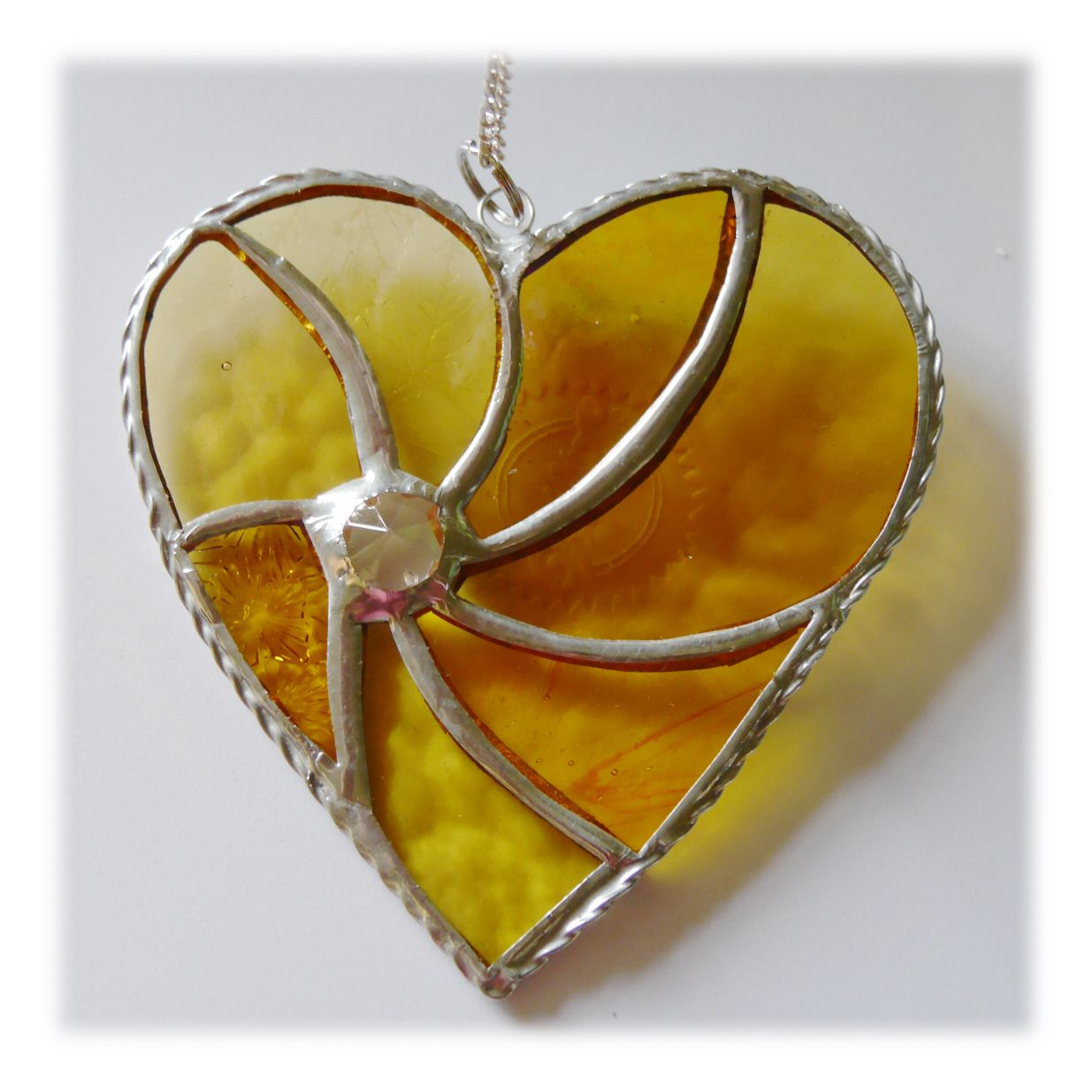 Swirl Heart 047 Gold #1908 FREE 14.50