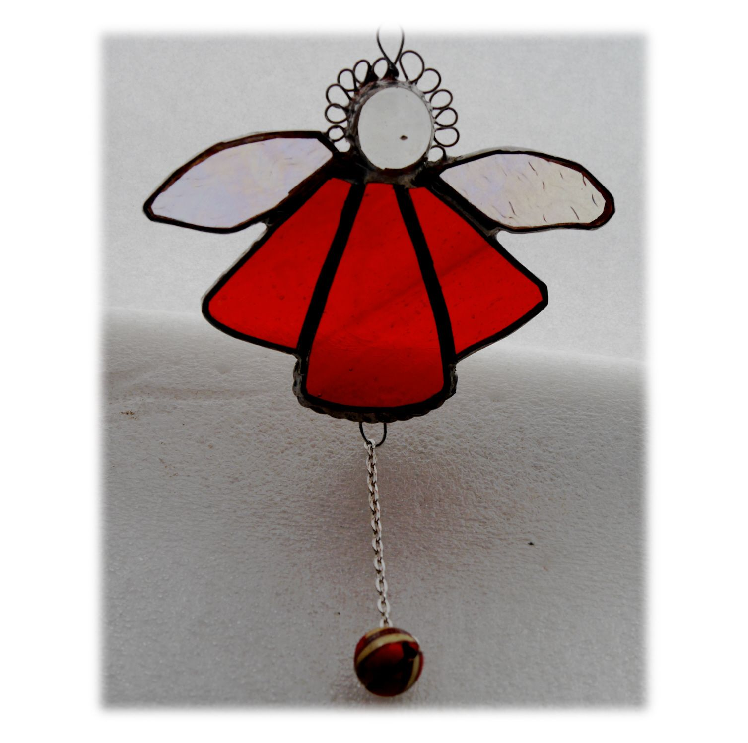 Angel Bell 047 Red #1908 FREE 9.00