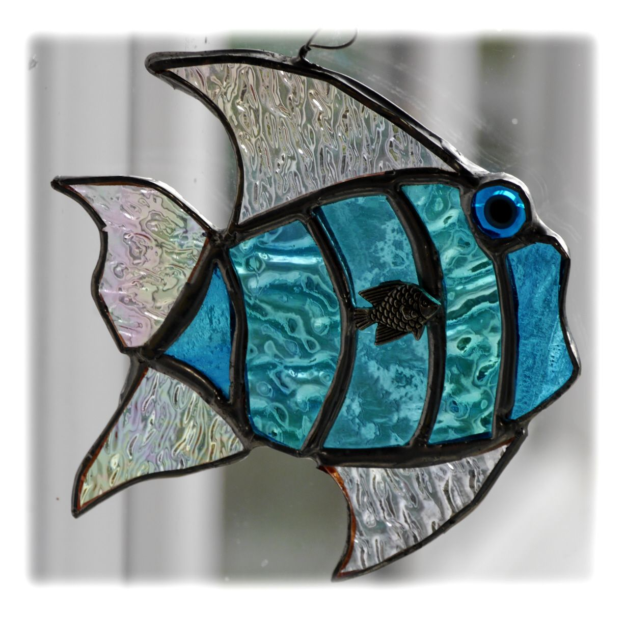 Fish Tropical 027 Turquoise #1907 FREE 13.00