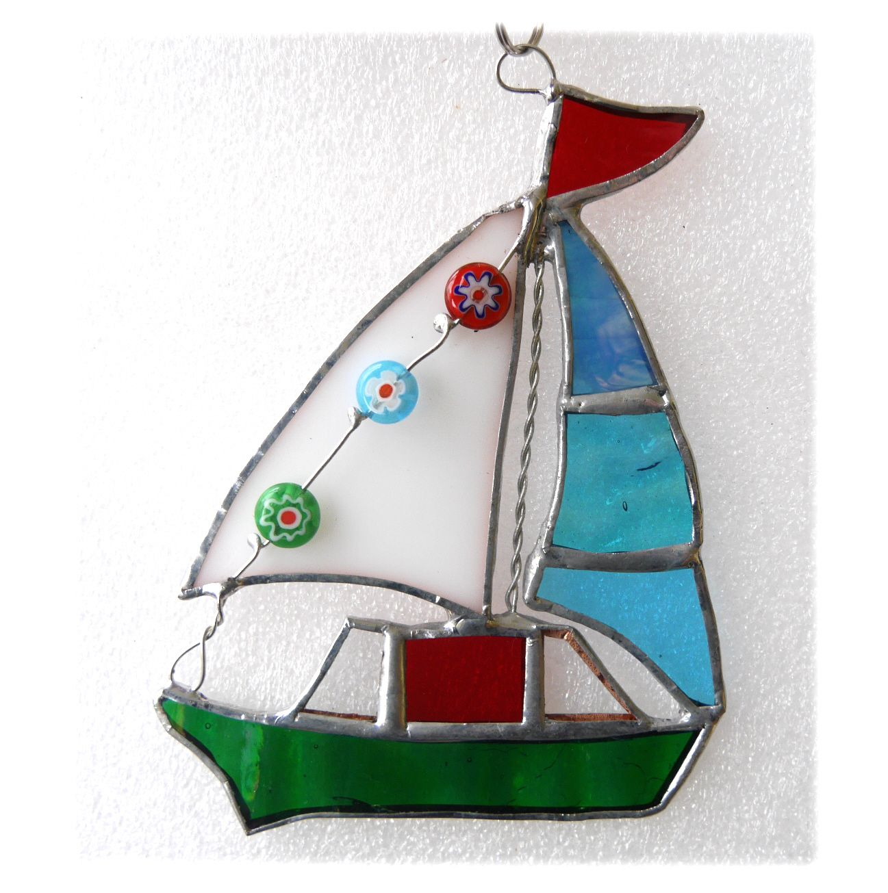Sailboat 072 Green #1910 15.00
