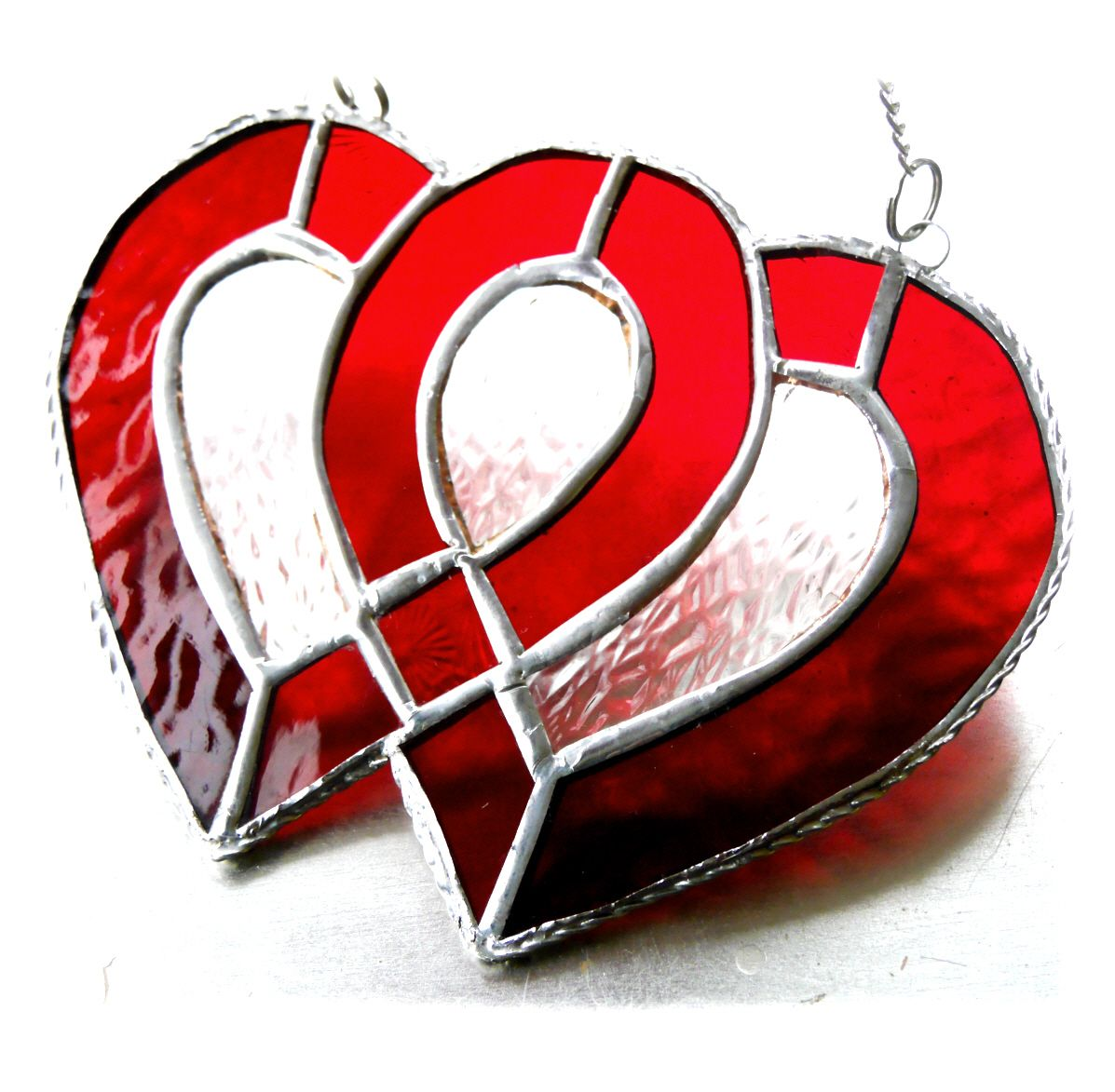 Entwined Heart 018 Red #1910 FREE 22.50