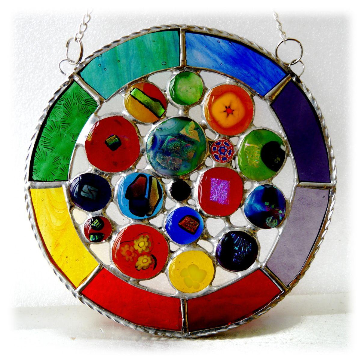 Rainbow Circles 018 #1909 FREE 25.00