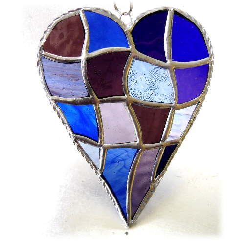 Patchwork Heart 048 Purple blue #2001 FREE 17.50.jpg