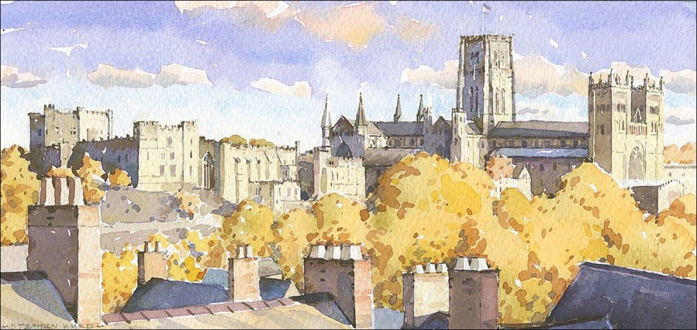 Durham Skyline - Autumn