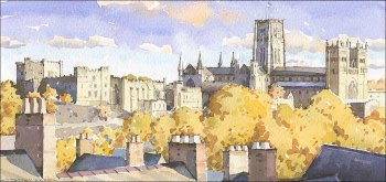 Durham Skyline - Autumn