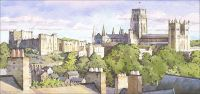 Durham viewed from the train station
