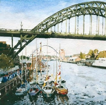 Tall Ships on the Tyne at Newcastle