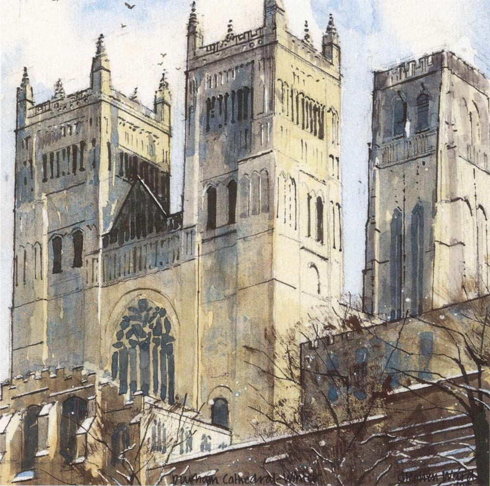 Durham Cathedral - Winter