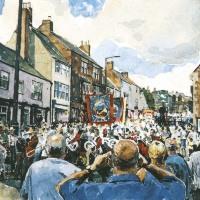 Summer Parade. Durham Miners Gala