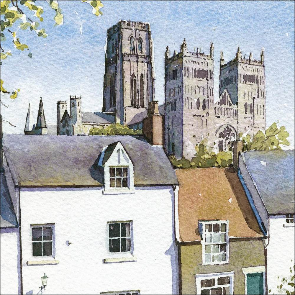 Durham Cathedral from South Street