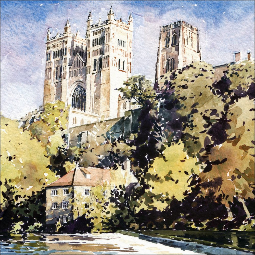 Durham Cathedral and Fulling Mill.