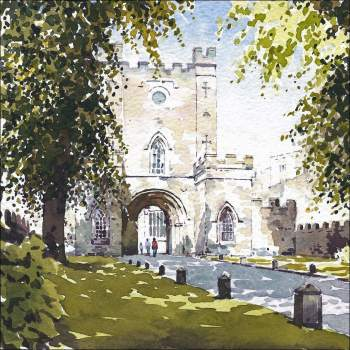 Durham Castle Gatehouse