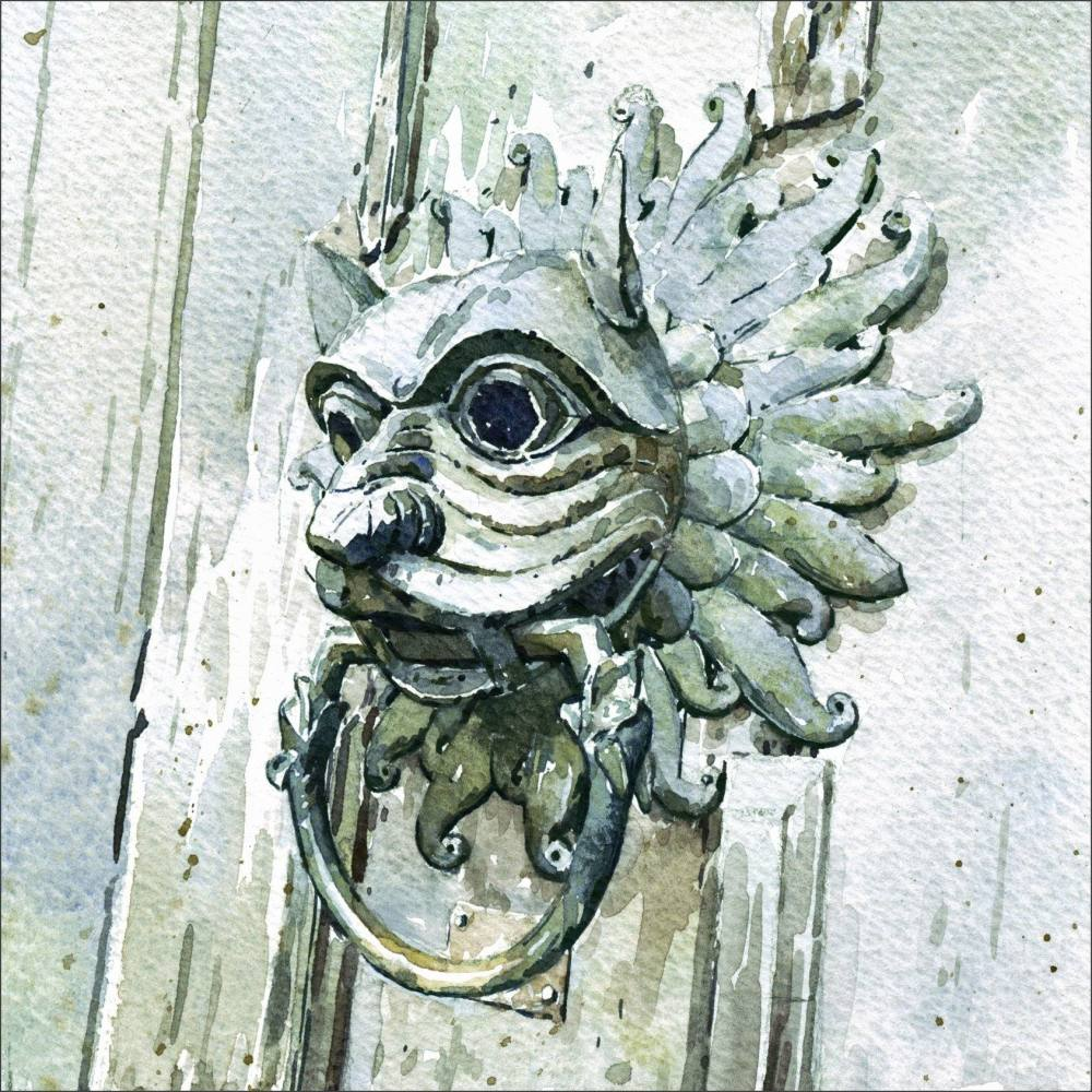 Sanctuary Knocker, Durham Cathedral.