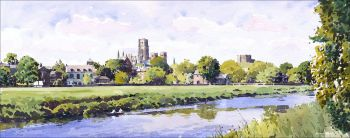 Durham skyline - early summer.