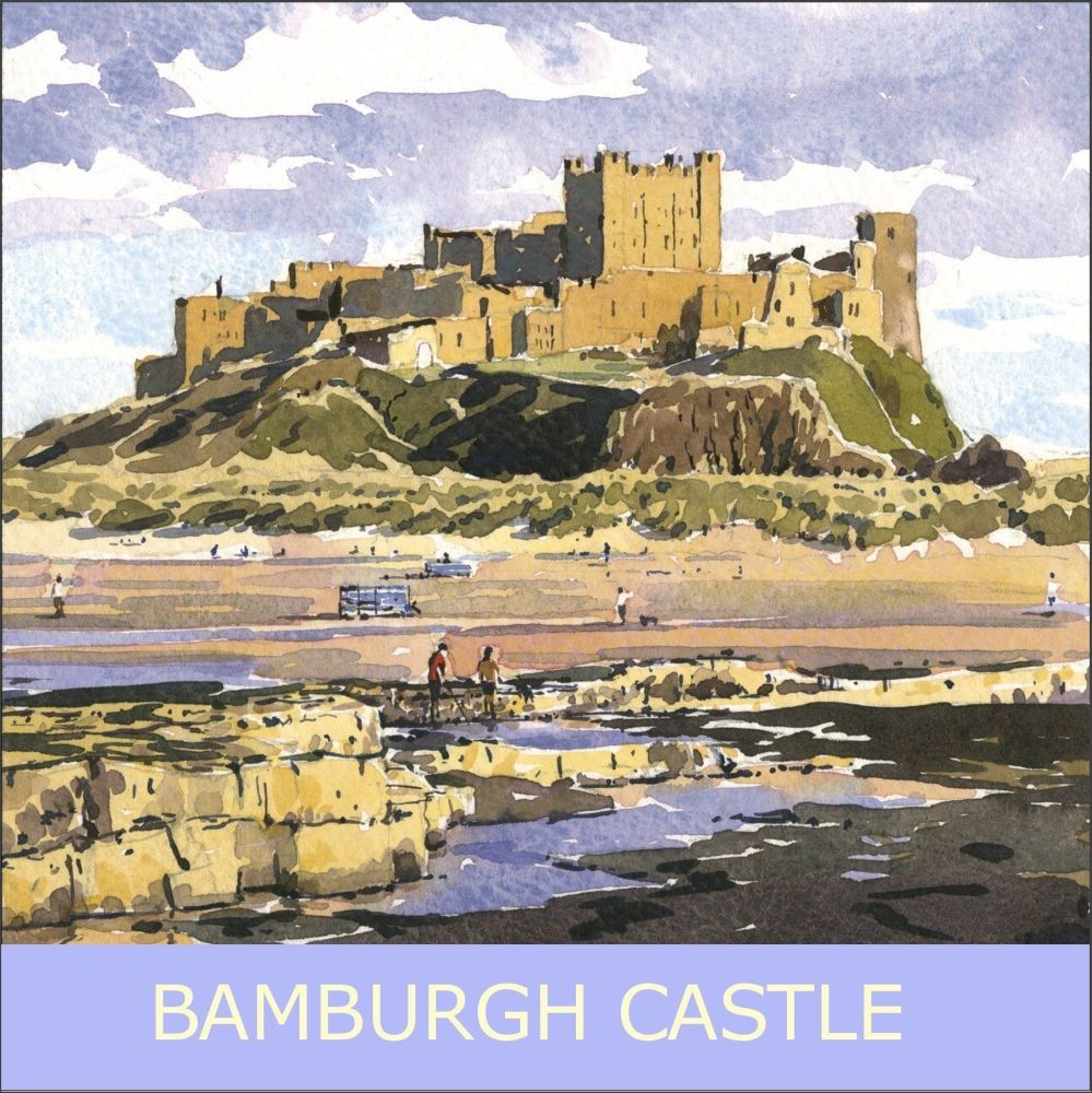 CO01 Bamburgh Castle, Northumberland