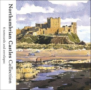 NP03 'Northumbrian Castles Collection' pack of notecards.