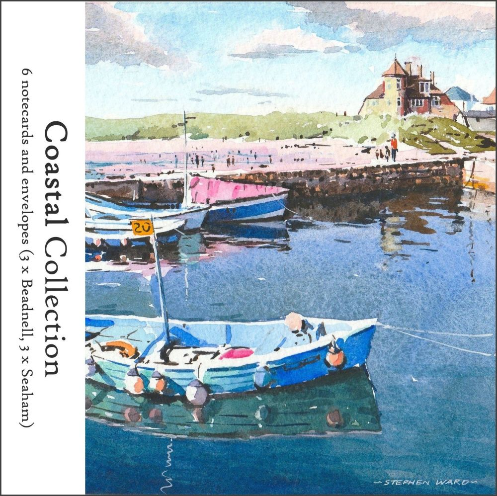 NP05 'Coastal Collection' pack of notecards.