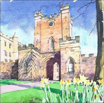 NC01 Castle Gatehouse, Durham.
