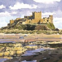 NC05 Bamburgh Castle.