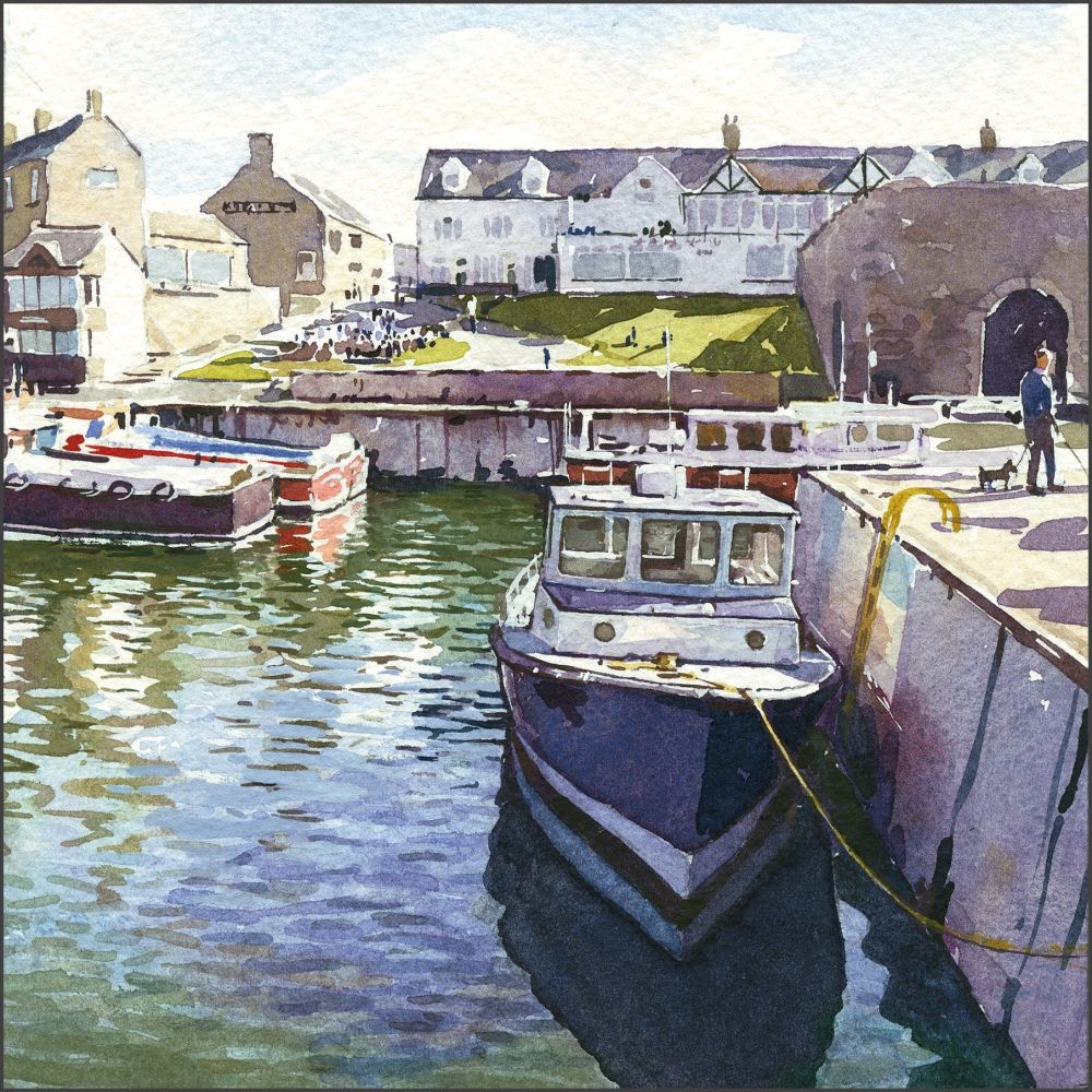 Seahouses Harbour, Northumberland.