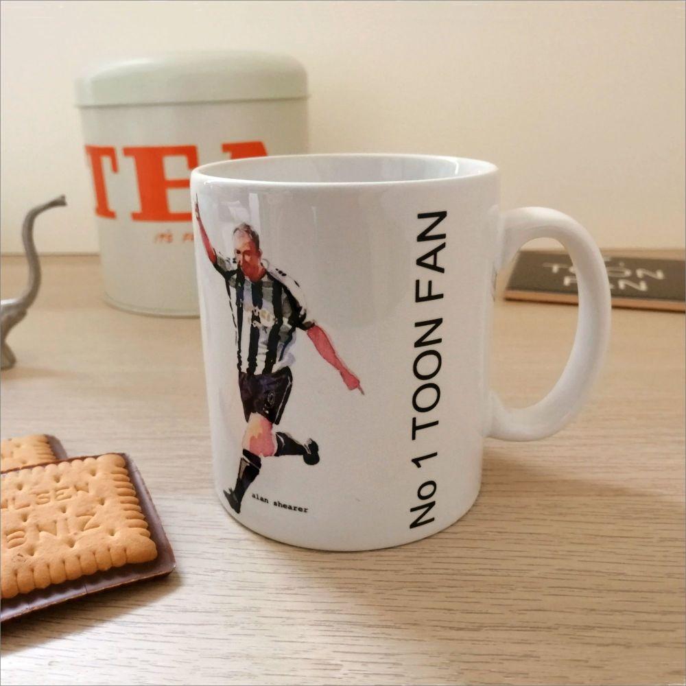 No 1 Toon Fan ceramic mug