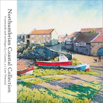 NP06 'Northumbrian Coastal Collection' pack of notecards.