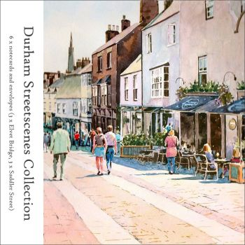 NP07 'Durham Streetscenes Collection' Pack of notecards