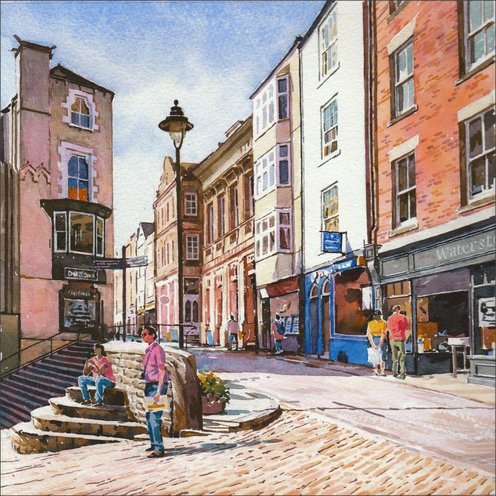Saddler Street, Durham City.