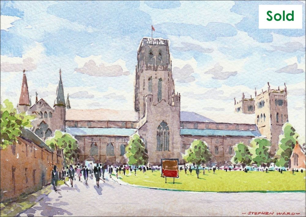 Congregation day at Palace Green, Durham. SOLD