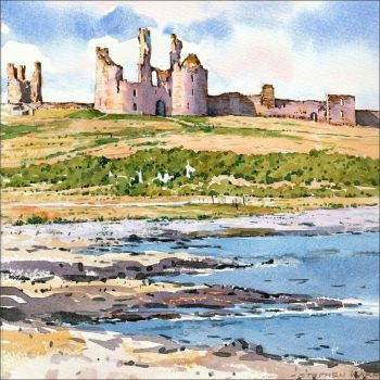 LP01  Dunstanburgh Castle, Northumberland