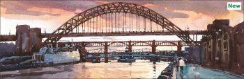 Sunset on the Tyne
