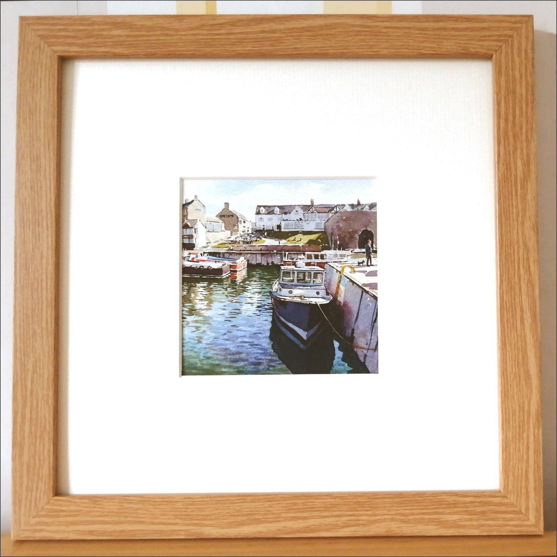 LP Seahouses harbour framed.jpg