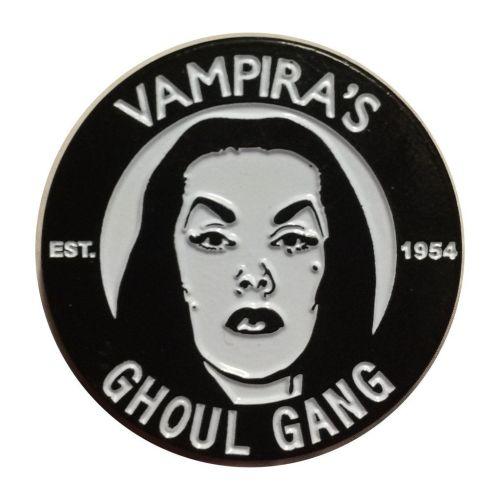 Kreepsville 666 Vampira Ghoul Gang Badge