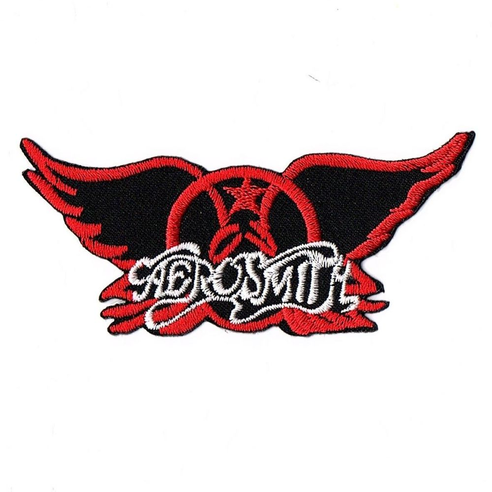 Aerosmith Red Wings Patch