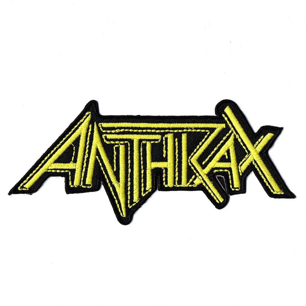 Anthrax Logo Patch