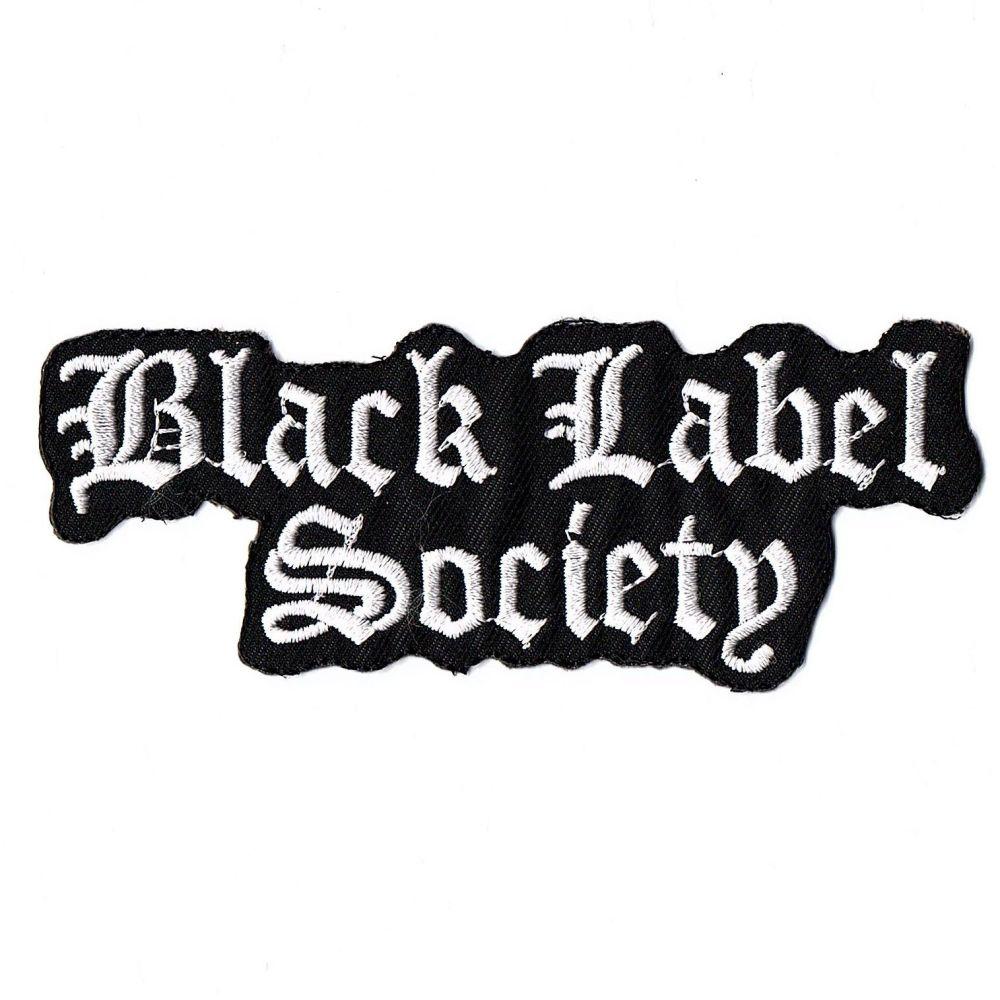 Black Label Society Logo Patch