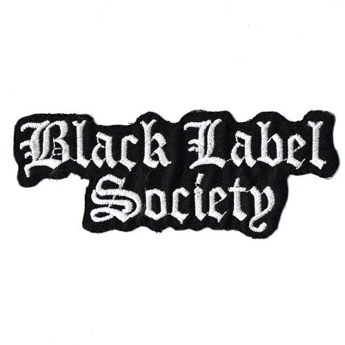 Black Label Society Logo Patch