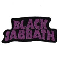 Black Sabbath Purple Logo Patch