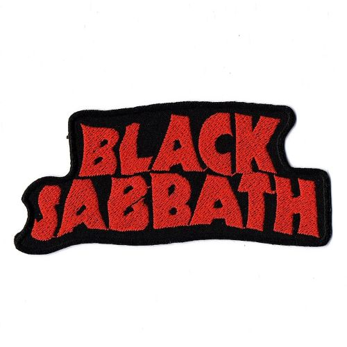 Black Sabbath Red Logo Patch