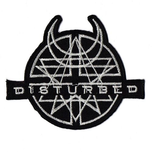 Disturbed Logo Patch