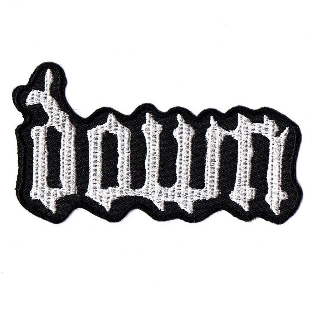 Down Logo Patch