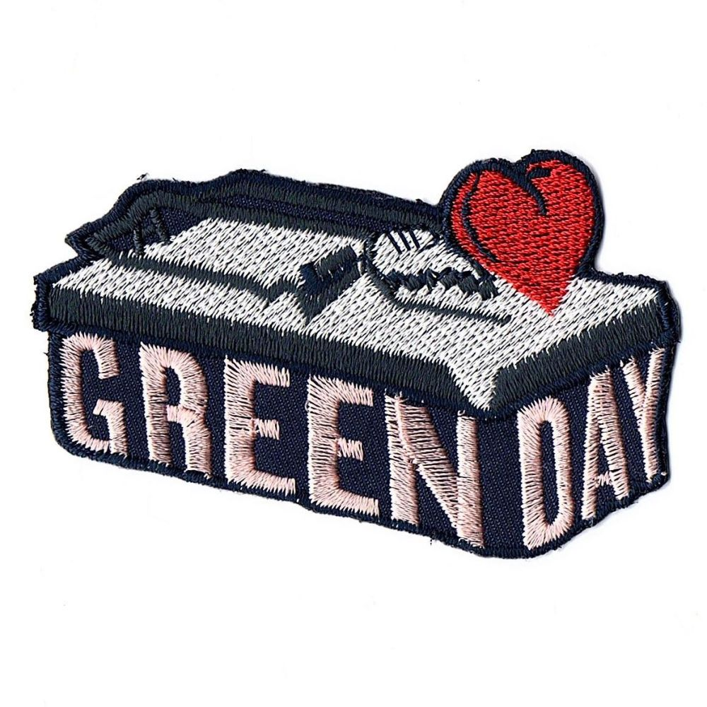 Green Day Heart Trap Patch