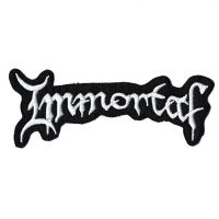 Immortal Logo Patch