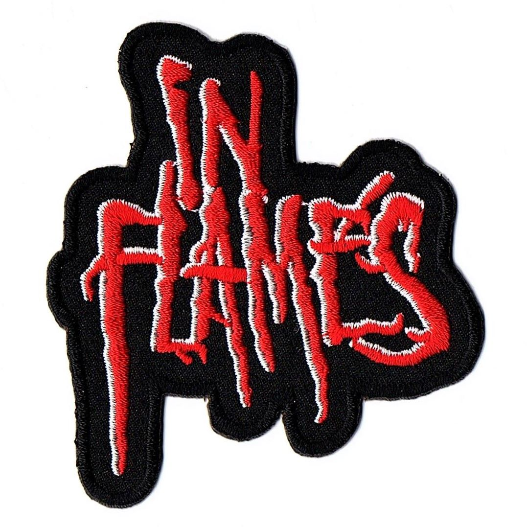 In Flames Logo Patch