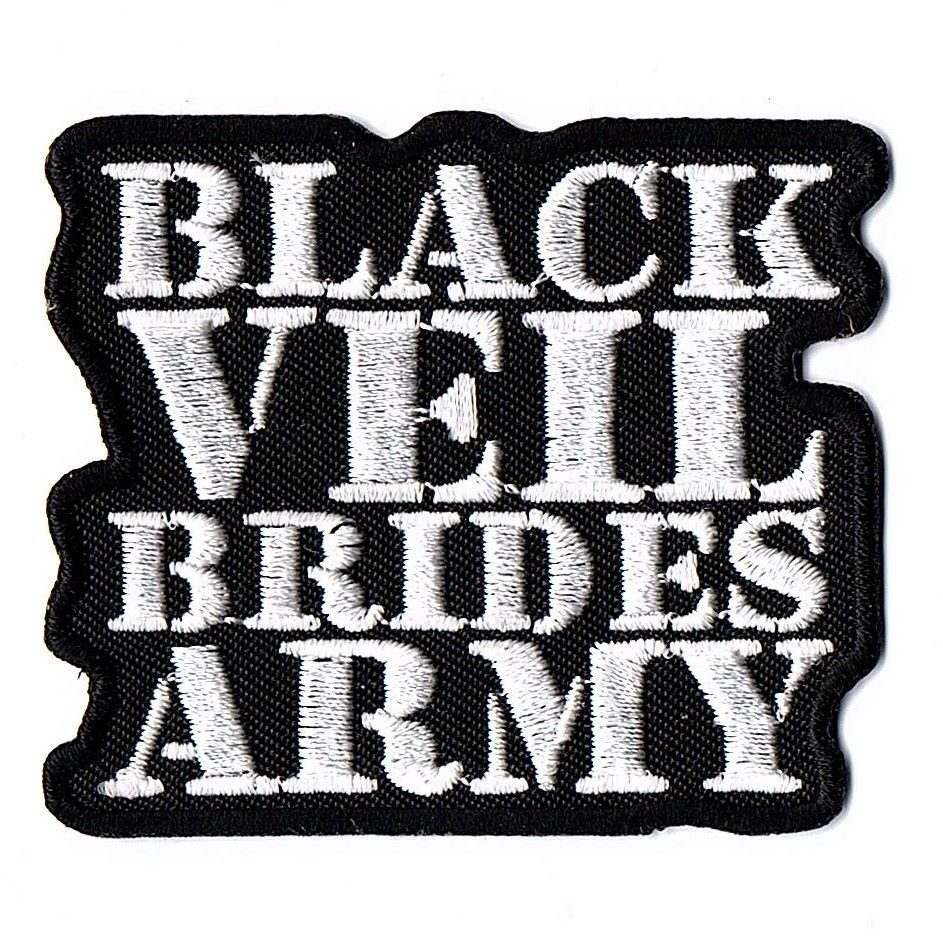 Black Veil Brides Army Patch