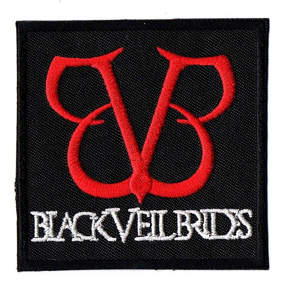 Black Veil Brides Red Logo Patch
