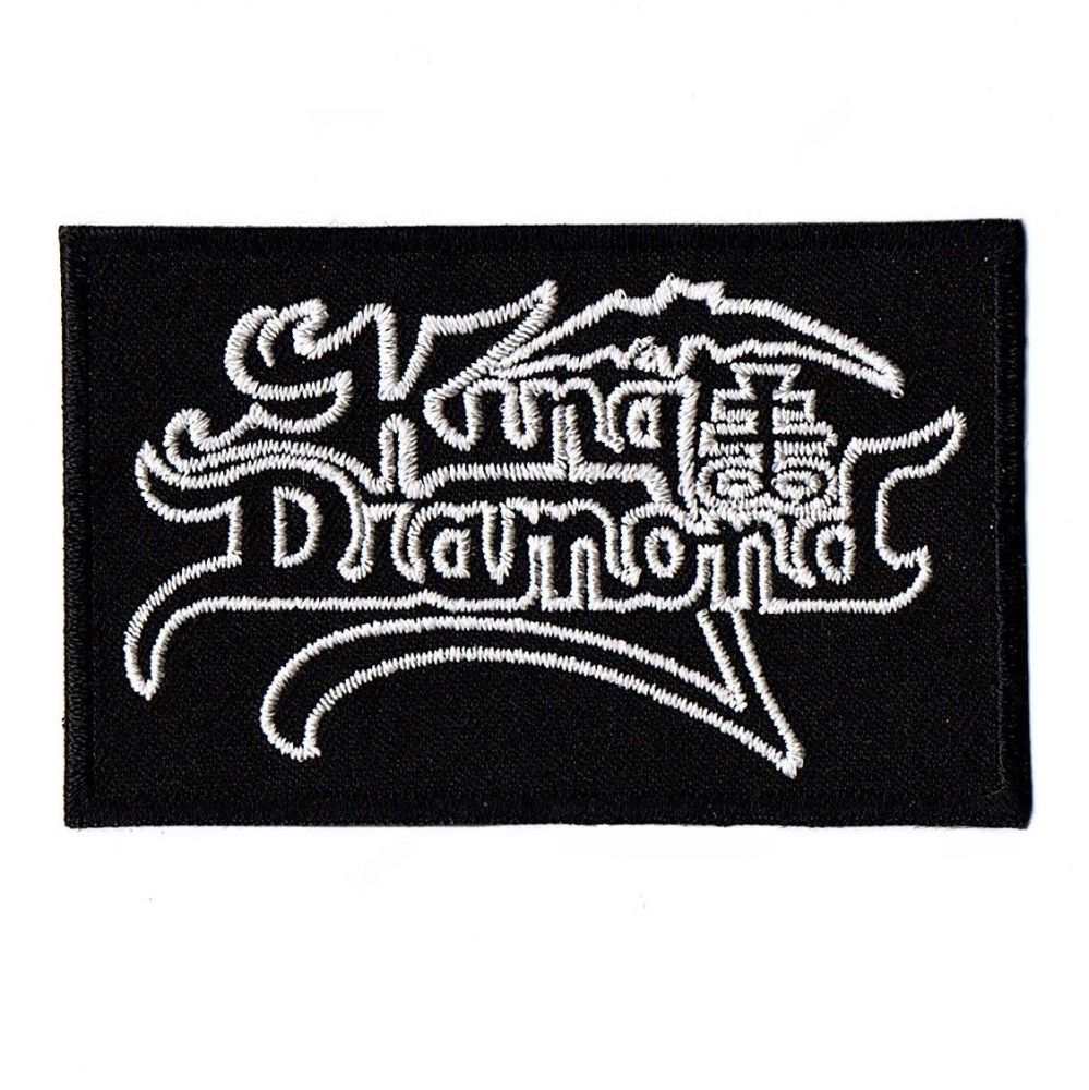 King Diamond Logo Patch